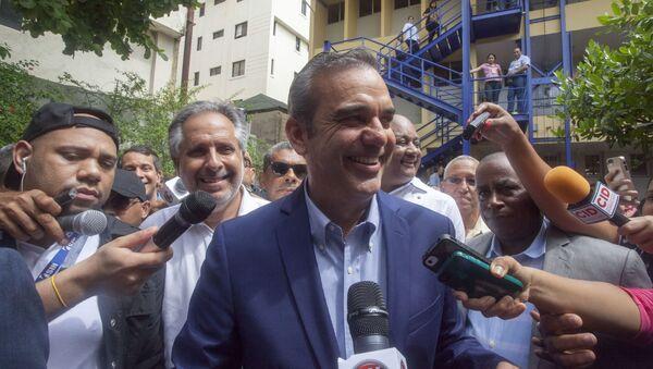 Luis Abinader, candidato a las elecciones presidenciales de República Dominicana - Sputnik Mundo