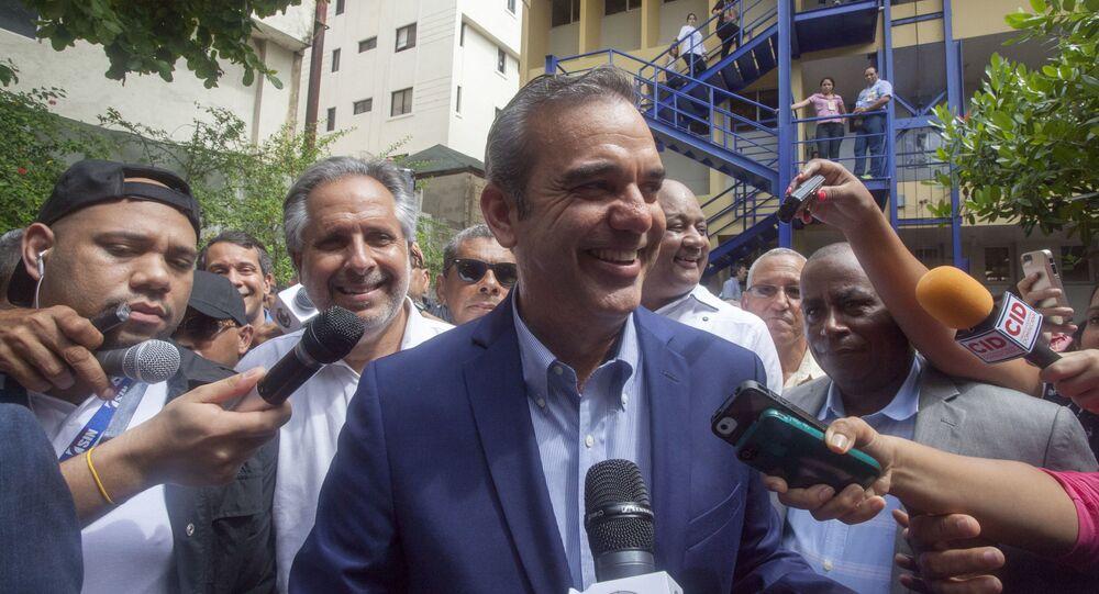 Luis Abinader, candidato a las elecciones presidenciales de República Dominicana