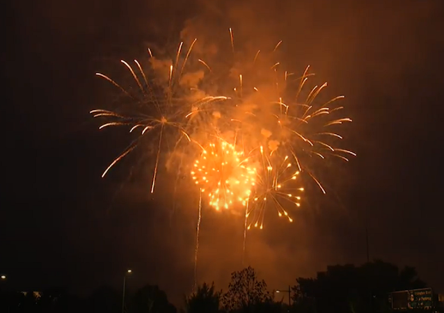 EEUU festeja el Día de la Independencia con un increíble espectáculo de fuegos artificiales