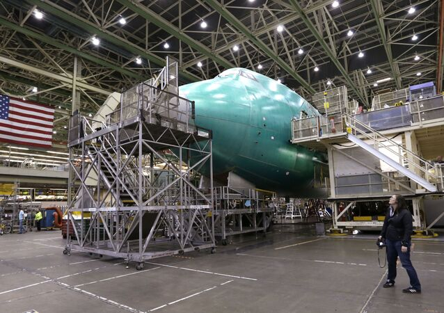 La fabricación del Boeing 747
