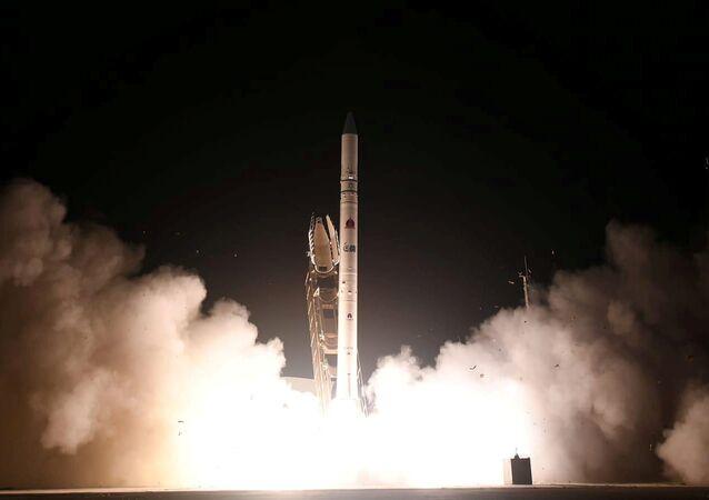 Lanzamiento de un nuevo satélite espía israelí, Ofek-16