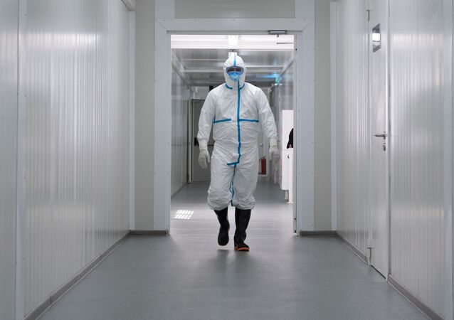 Un médico ruso (imagen referencial)