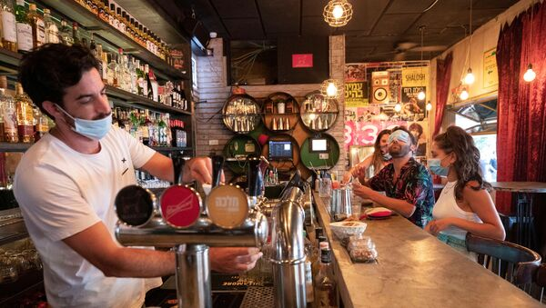 Un bar en Tel-Aviv, Israel - Sputnik Mundo