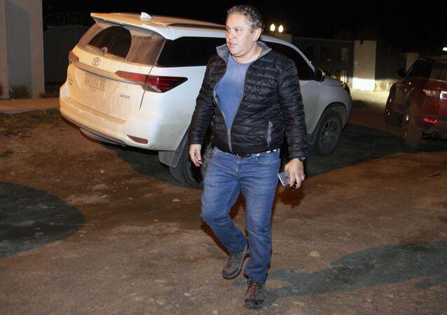 El empresario argentino, Fabián Gutiérrez, exsecretario privado del expresidente Néstor Kirchner