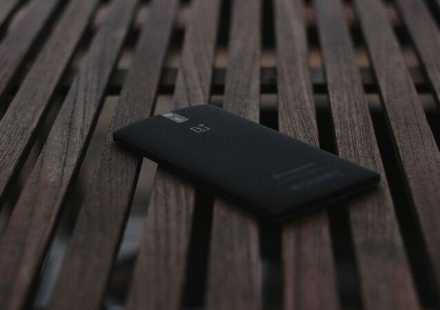 Un teléfono de OnePlus, referencial