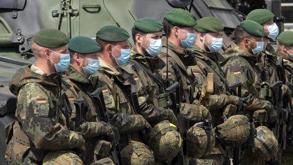 Militares del Ejército de Alemania - Sputnik Mundo