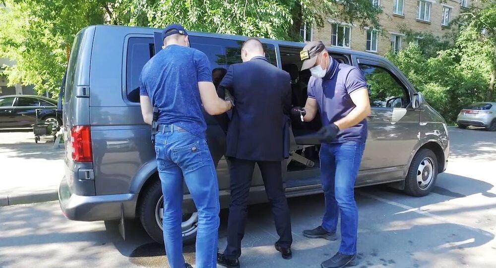 Detención del asesor de la corporación rusa Roscosmos Iván Safrónov