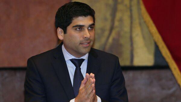 Otto Sonnenholzner, vicepresidente de Ecuador - Sputnik Mundo