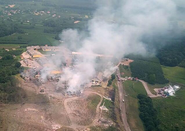 Explosión en una planta pirotécnica en Turquía