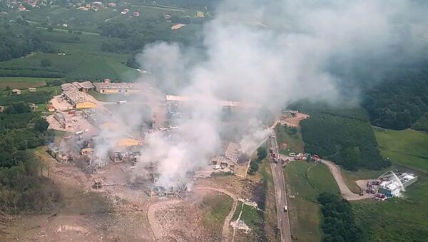 Explosión en una planta pirotécnica en Turquía - Sputnik Mundo