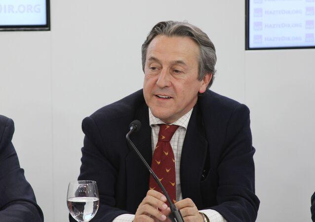 Hermann Tertsch, eurodiputado de Vox