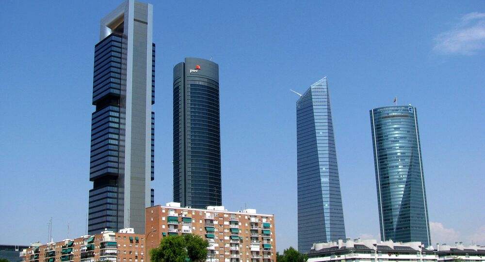 Cuatro Torres de Madrid (imagen referencial)