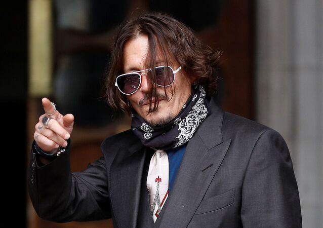 Johnny Depp, actor estadounidense