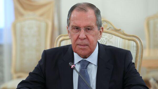 Serguéi Lavrov, ministro ruso de Asuntos Exteriores ruso - Sputnik Mundo