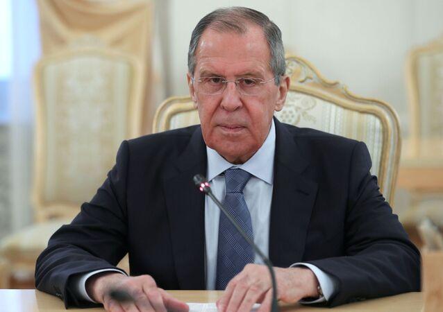 Serguéi Lavrov, ministro ruso de Asuntos Exteriores ruso