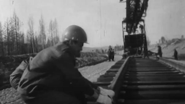 El BAM, uno de los proyectos más ambiciosos de la URSS - Sputnik Mundo
