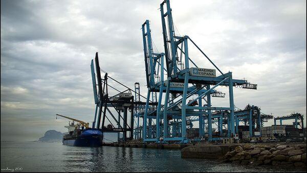 Puerto de Algeciras - Sputnik Mundo