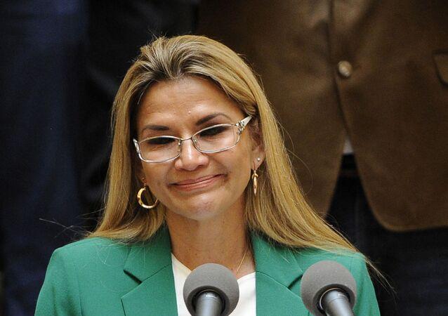 Jeanine Áñez, presidenta de Bolivia