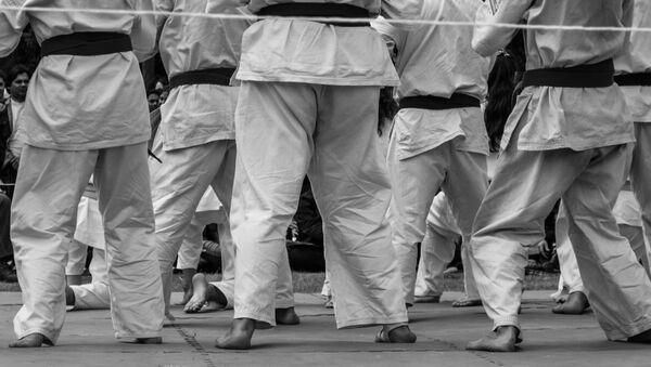 Karatekas entrenando - Sputnik Mundo