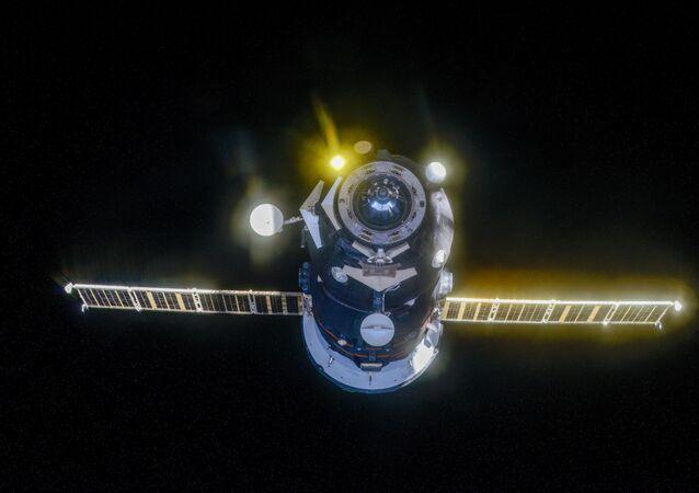 El carguero espacial ruso Progress MS-13
