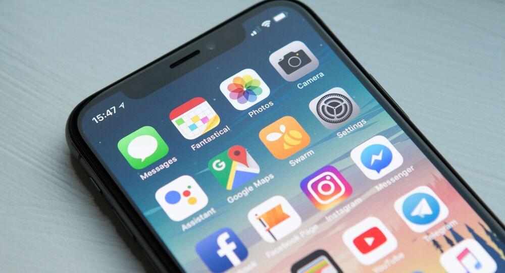 La pantalla de un 'smartphone'