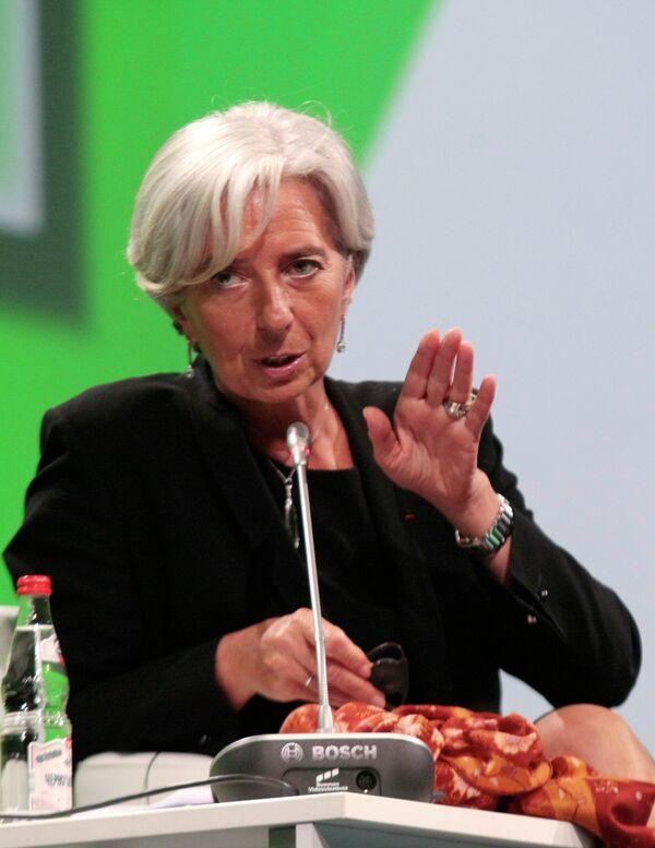 Christine Lagarde - Sputnik Mundo