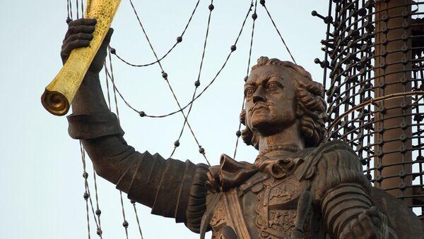 El monumento a Pedro el Grande (archivo) - Sputnik Mundo