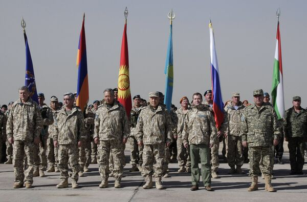 Contingentes de paz de la Organización del Tratado de Seguridad Colectiva (archivo) - Sputnik Mundo