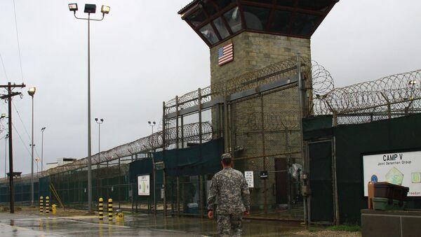 Cárcel de Guantánamo (archivo) - Sputnik Mundo