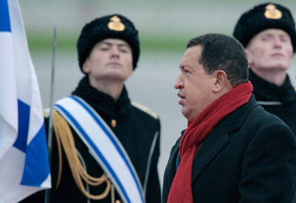 La visita del presidente venezolano Hugo Chávez a Rusia - Sputnik Mundo