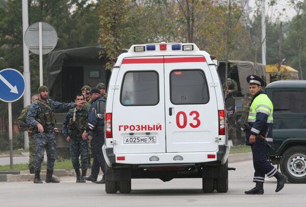 Atentado cerca del Parlamento de Chechenia - Sputnik Mundo