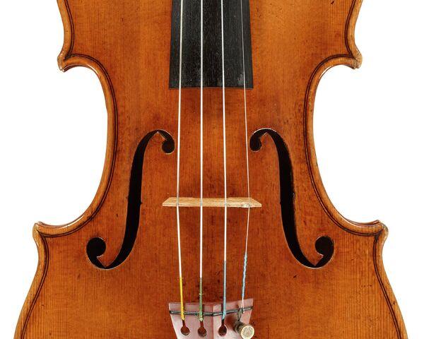 Un  violín del legendario Antonio Stradivarius, de nombre Molitor, que  posiblemente perteneció a Napoleón Bonaparte - Sputnik Mundo