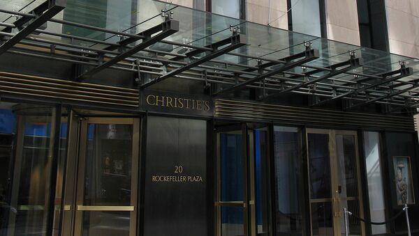 Casa de subastas Christie's - Sputnik Mundo