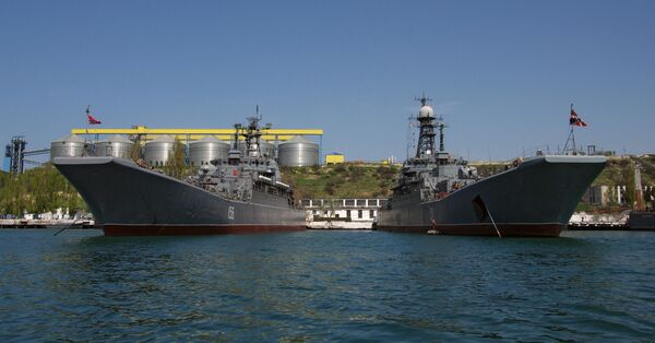 Kiev confía en que las Armadas de Rusia y Ucrania continúen la cooperación bilateral - Sputnik Mundo