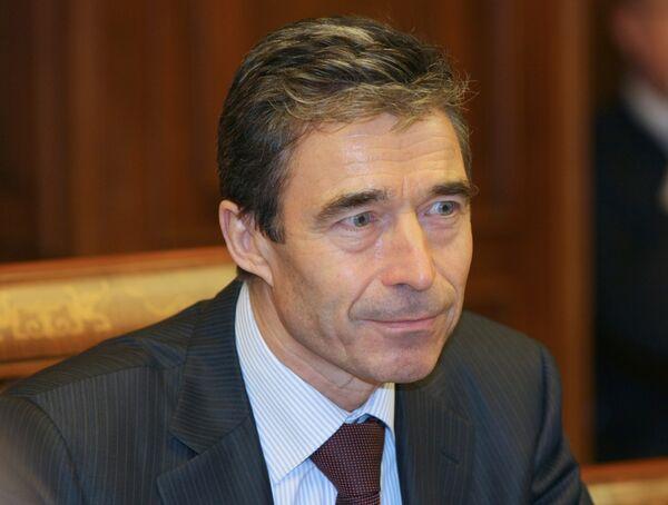 Anders Fogh Rasmussen - Sputnik Mundo