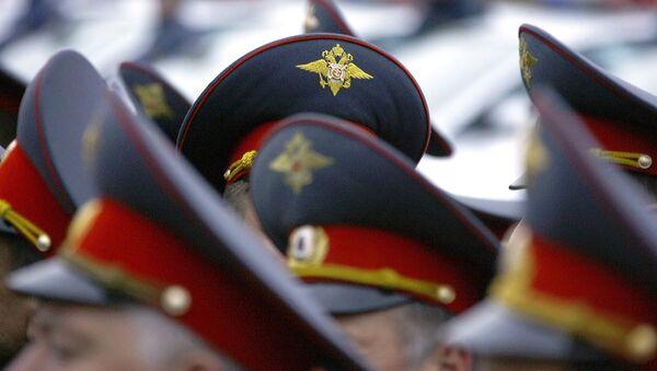 Policía de Moscú (imagen referencial) - Sputnik Mundo
