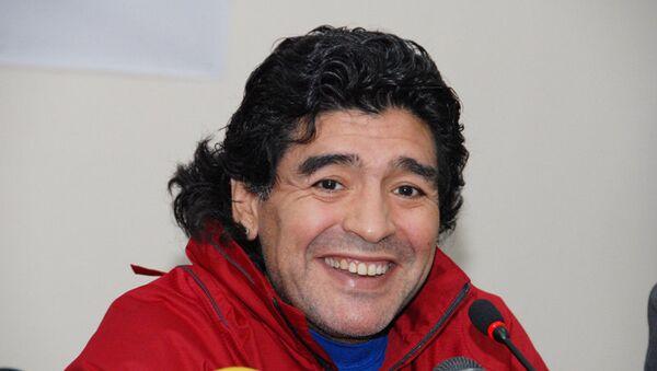 Diego Armando Maradona - Sputnik Mundo