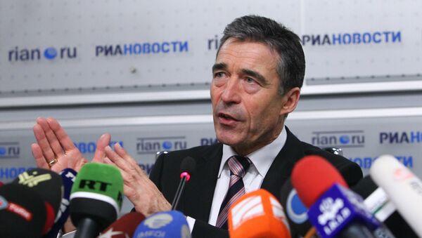 Anders Fogh Rasmussen, exsecretario general de la OTAN - Sputnik Mundo