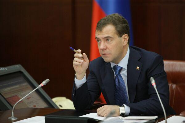 El presidente de Rusia, Dmitri Medvédev y el primer ministro de Japón, Naoto Kan - Sputnik Mundo