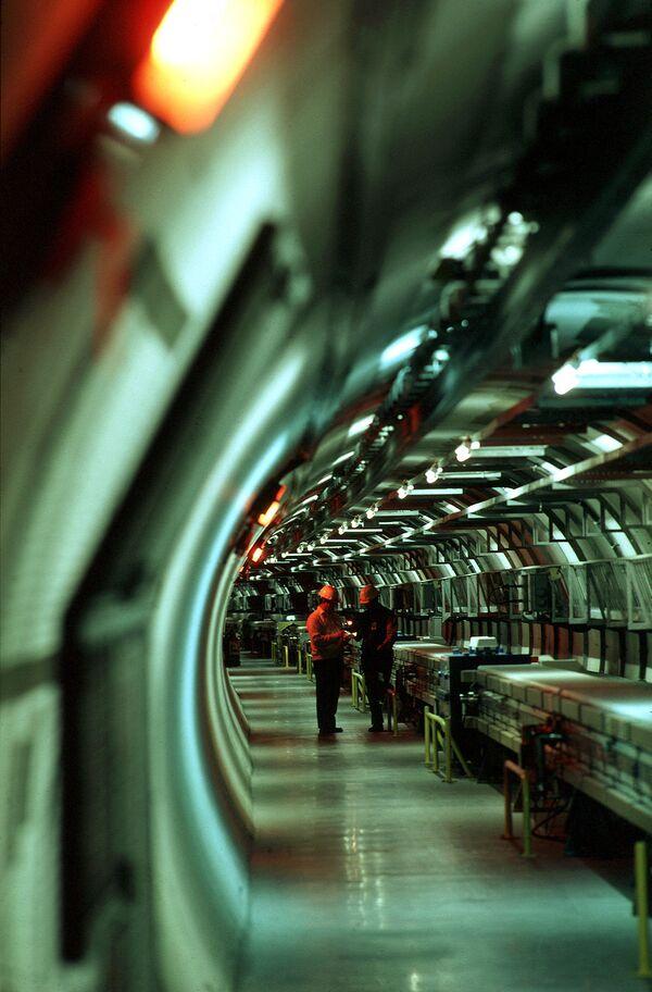 El Gran Colisionador de Hadrones - Sputnik Mundo