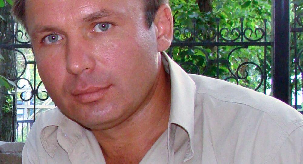 El piloto ruso Konstantín Yaroshenko