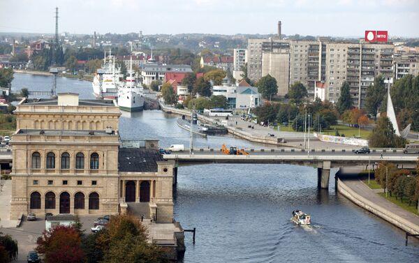 Vista de Kaliningrad - Sputnik Mundo