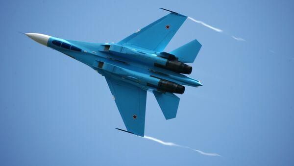 Caza ruso Su-27 - Sputnik Mundo