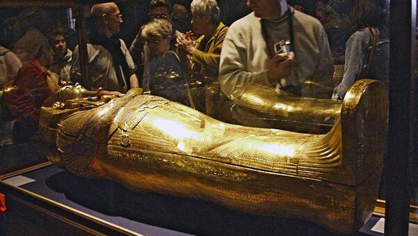 Sarcófago de Tutankamón - Sputnik Mundo