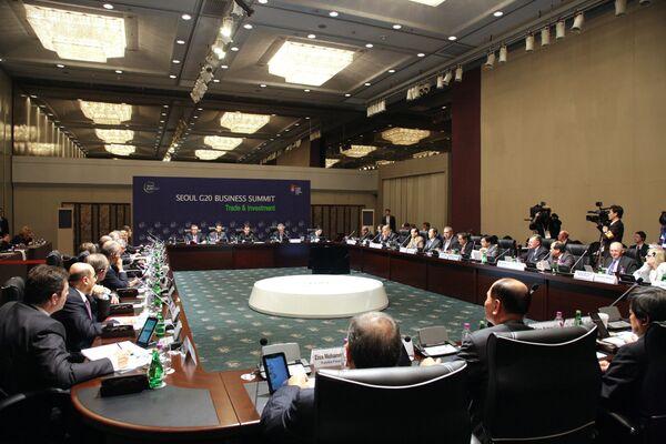 Cumbre del G-20 en Seúl - Sputnik Mundo