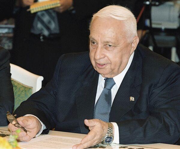 Ariel Sharon  - Sputnik Mundo
