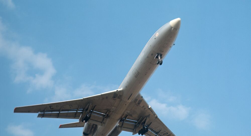 Avión TU-154