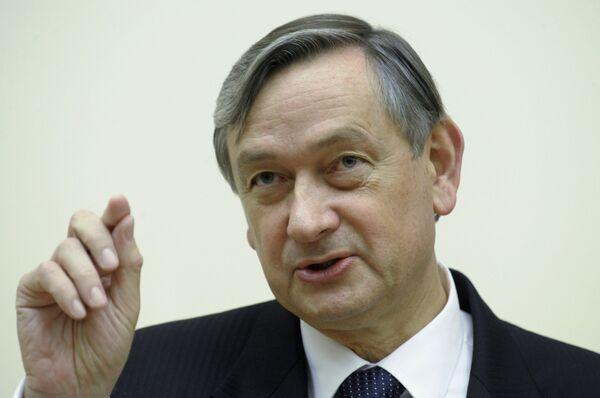 El presidente de Eslovenia, Danilo Türk - Sputnik Mundo