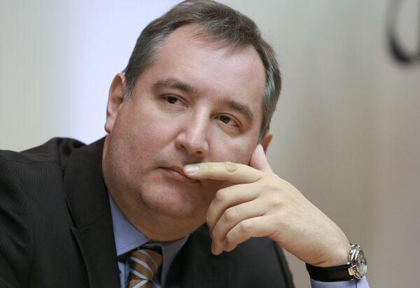 Dmitri Rogozin - Sputnik Mundo