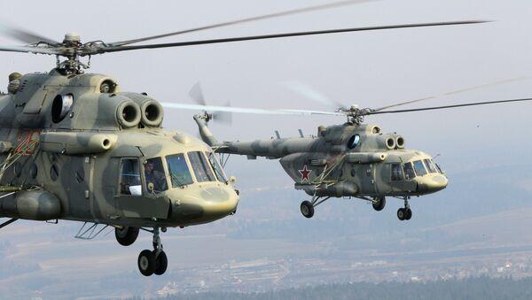 Los helicópteros Mi-17 - Sputnik Mundo